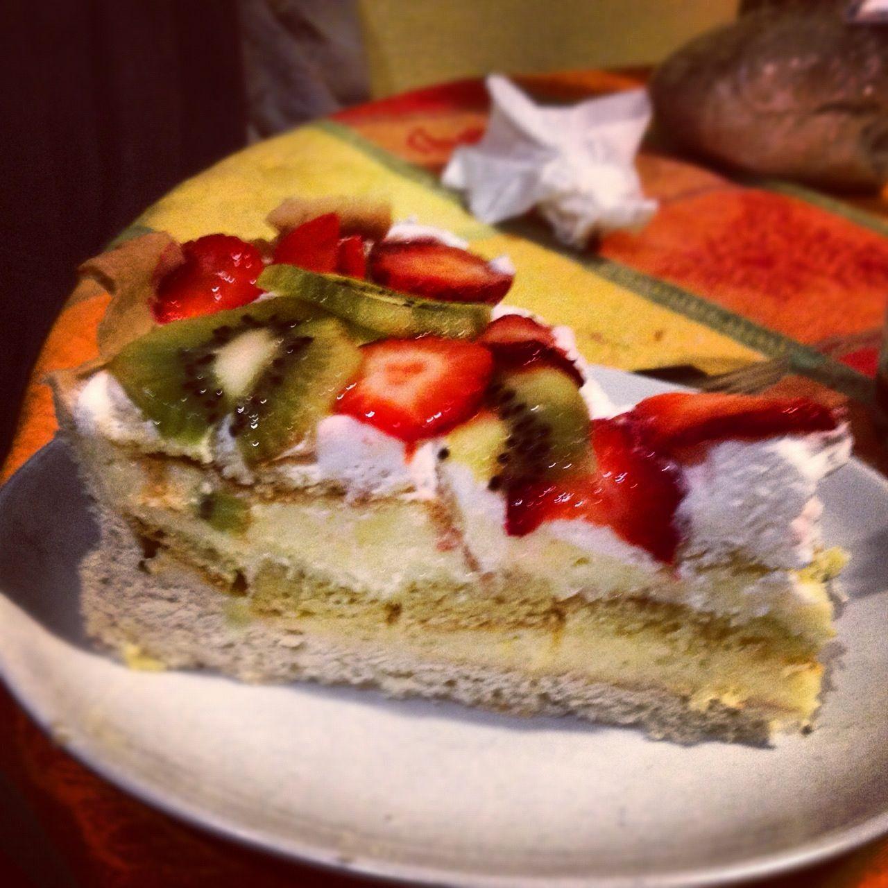 invention triple cake!