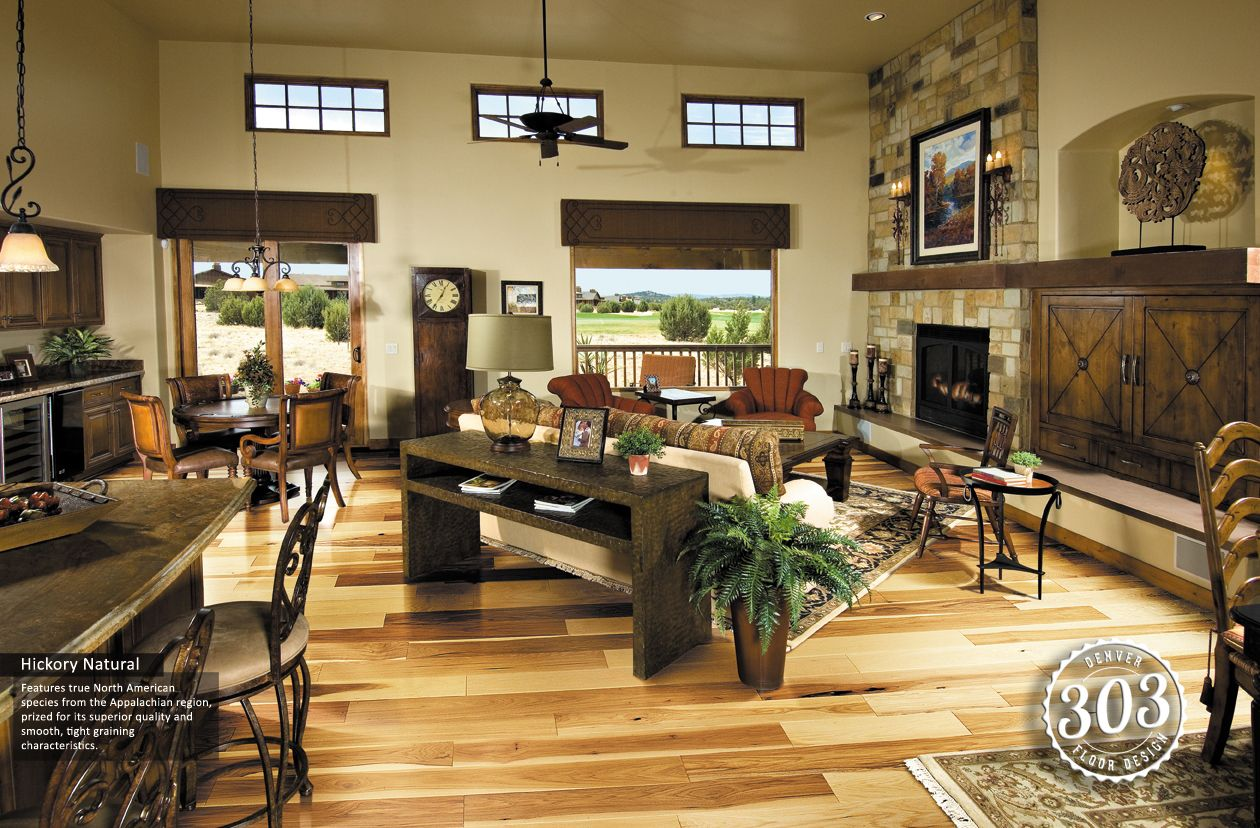 Hardwoodflooring is a common trend all over the world