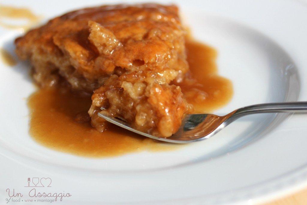 brown sugar pudding, pouding chômeur, dessert, recipe, pudding