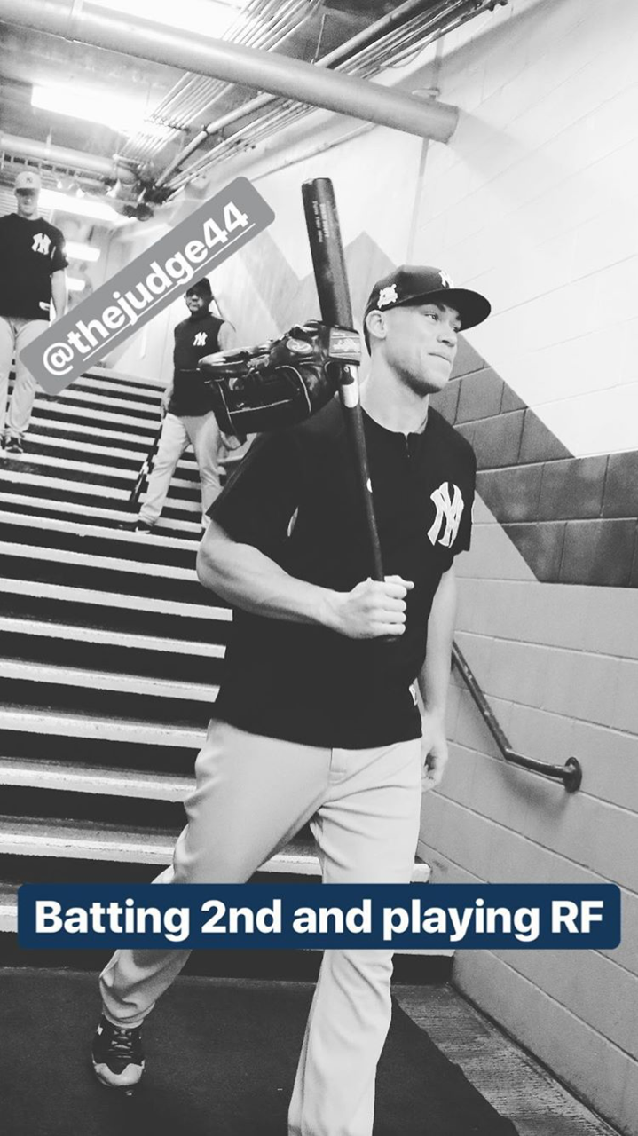 Yankees Insta Lineup For Game 2 Alcs 10 14 17 In 2020 New York Yankees New York Yankees Baseball Baseball Guys
