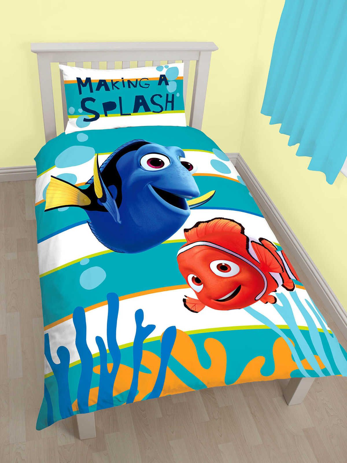 Finding Nemo Dory Single Duvet Cover Set Polycotton