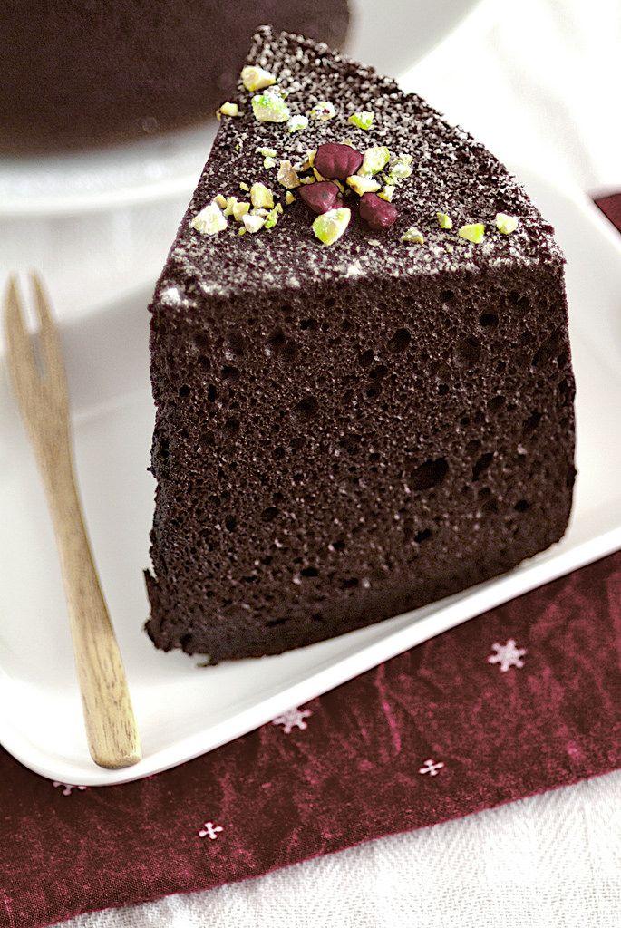Life is Great: Chocolate Chiffon Cake