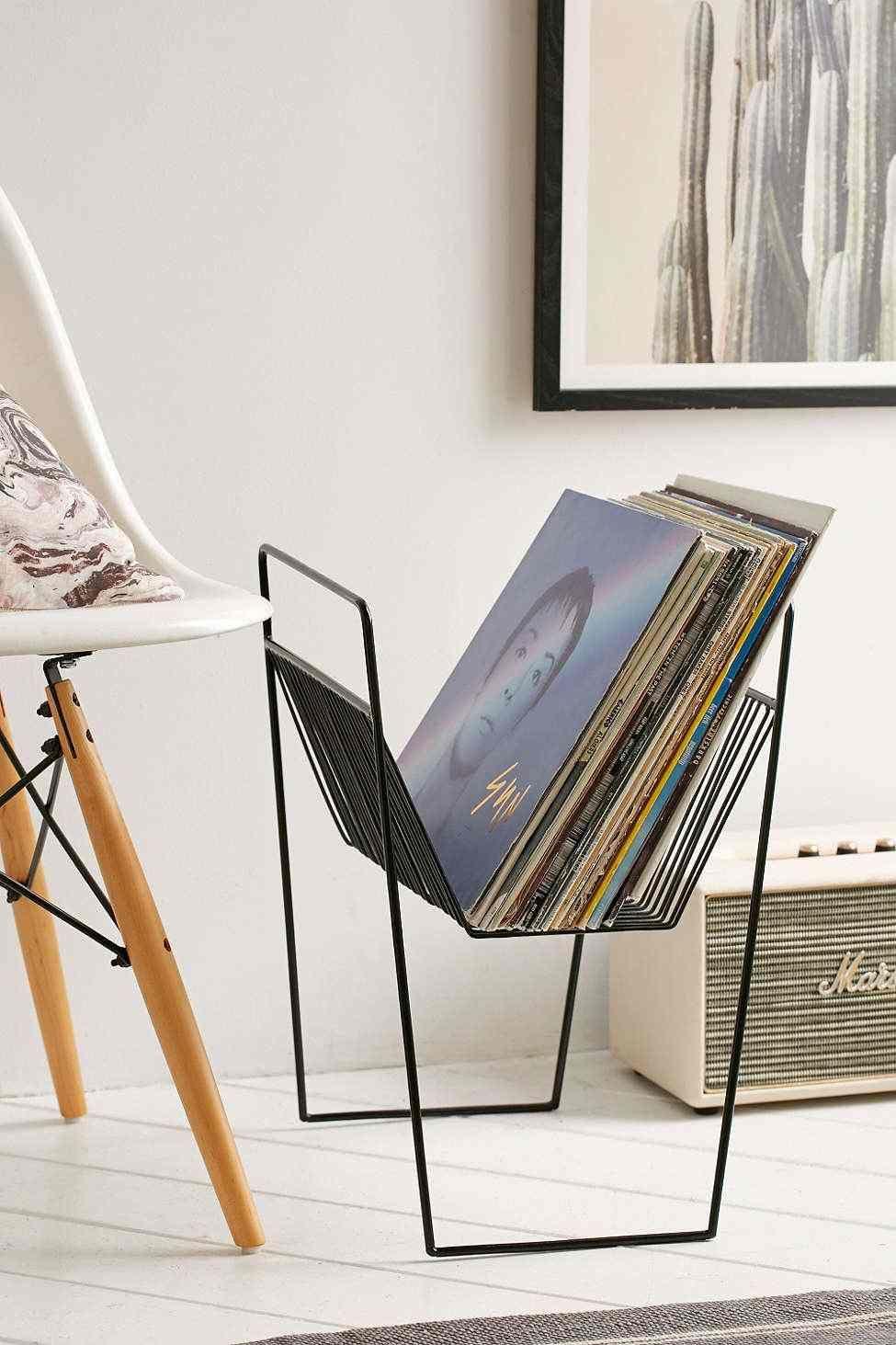 Rangement Vinyle Fonctionnel Et élégant En 35 Idées Inspirantes