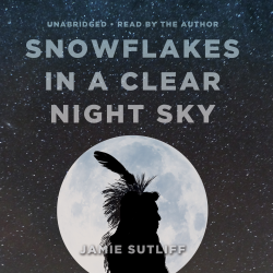 """Jamie Sutliff's #Stories """"Snowflakes in a Clear Night Sky"""" is now out in audiobook form. Sample the audio here: http://amblingbooks.com/books/view/snowflakes_in_a_clear_night_sky"""