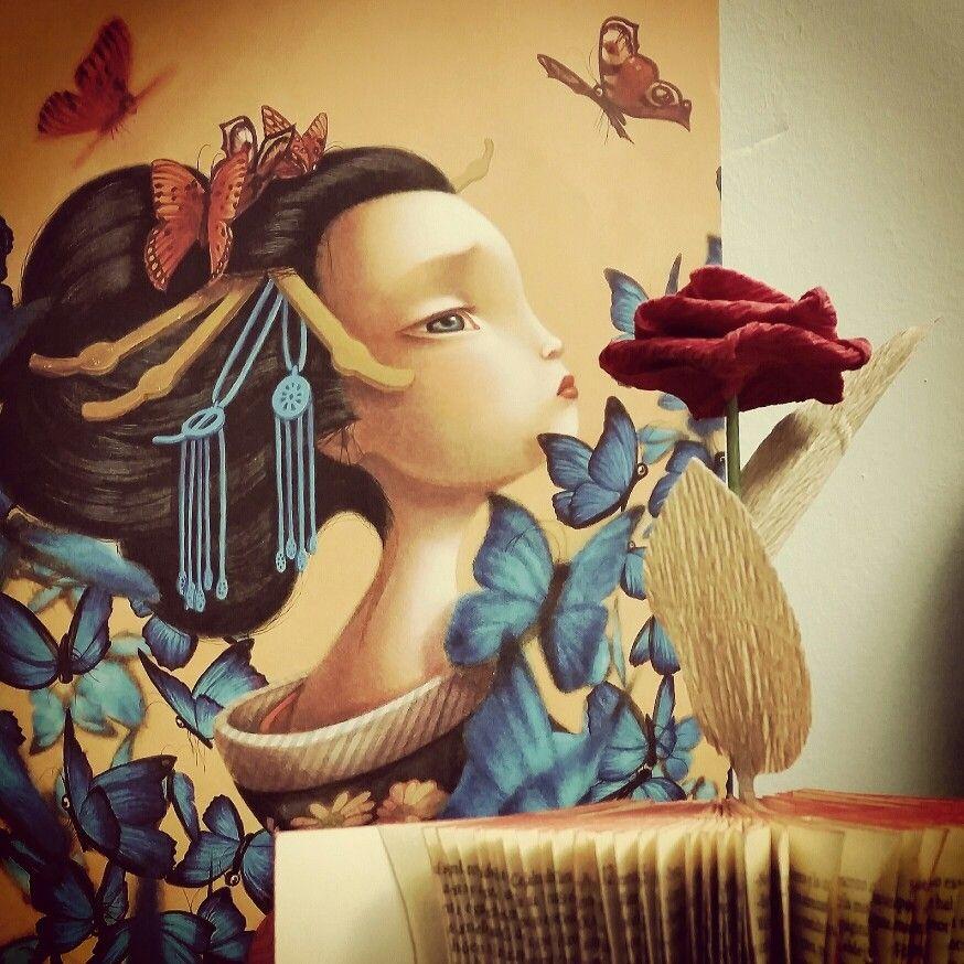 """""""Madama Butterfly"""" un álbum ilustrado por Benjamin Lacombe que está siendo un éxito de ventas. Por sólo 29.90€"""
