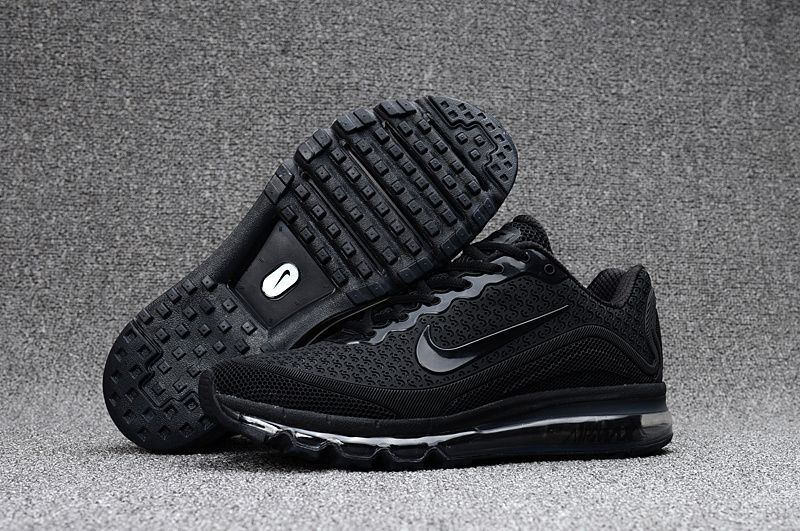 on sale d9086 128d6 Nike Air Max 2017.8 Black Men