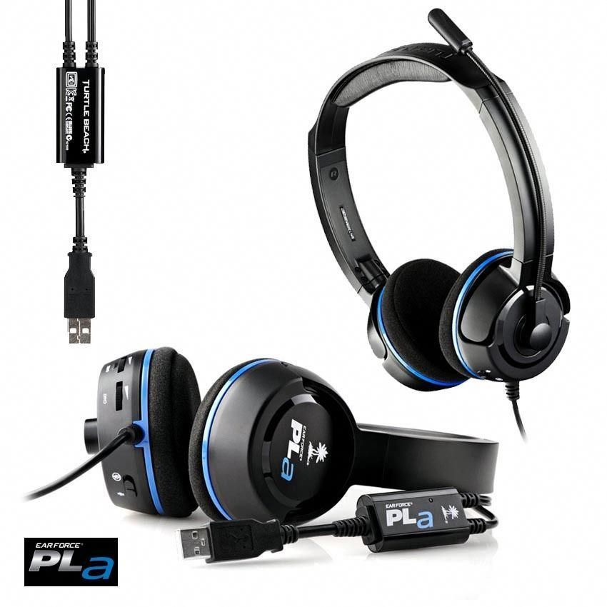 b694e936feb Turtle Beach Ear Force Pla Gaming Headset For Ps3, Ps4, Windows Pc, Mac Pro  #progamingheadset