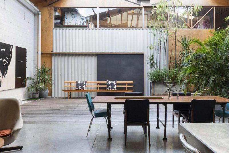 Scandinavisch Interieur Sydney : Loft de m² dans un entrepôt à sydney binnenkijken loft