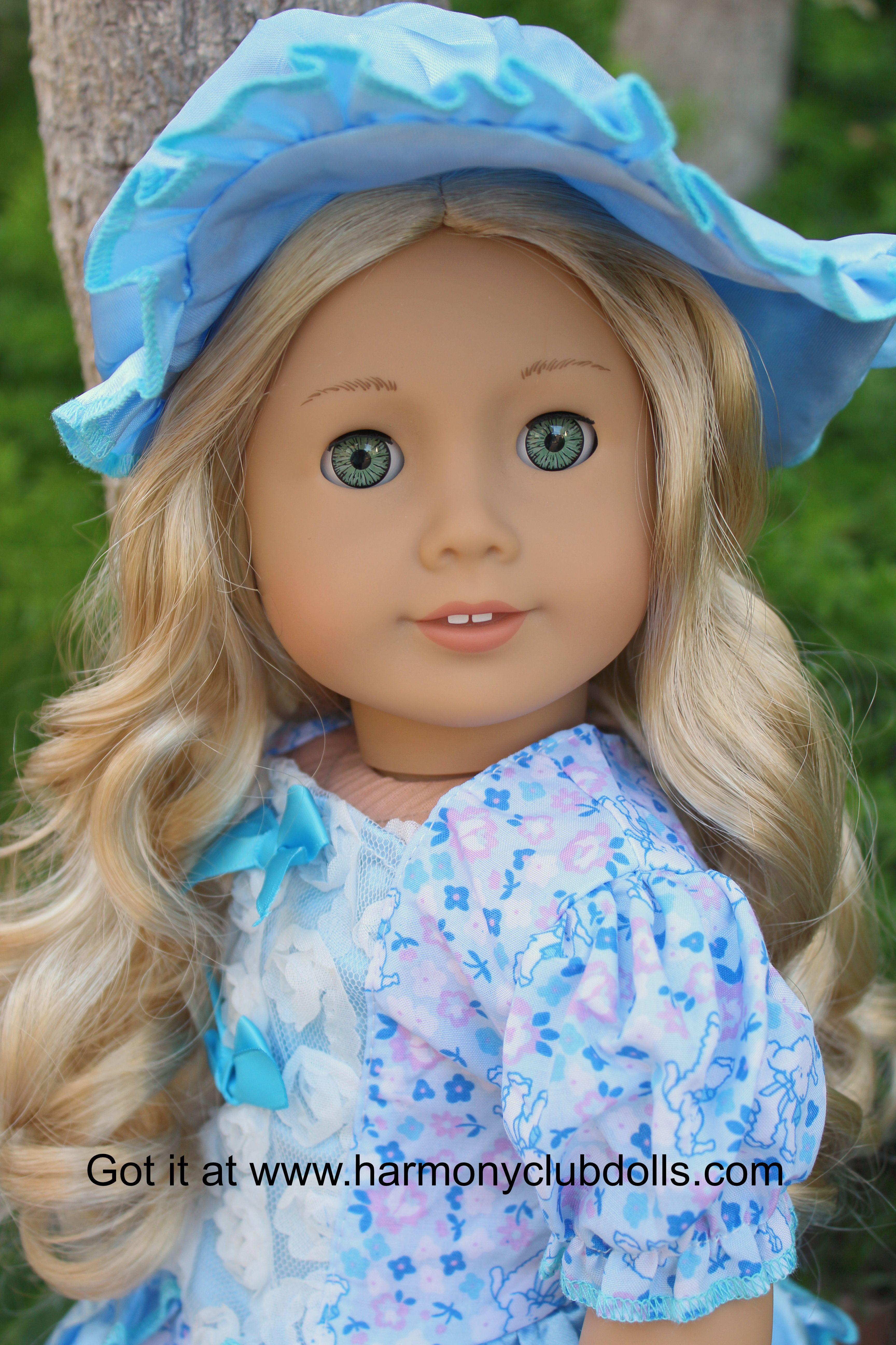 "HARMONY CLUB DOLLS 18"" Doll clothes bo peep dress www.harmonyclubdolls.com"