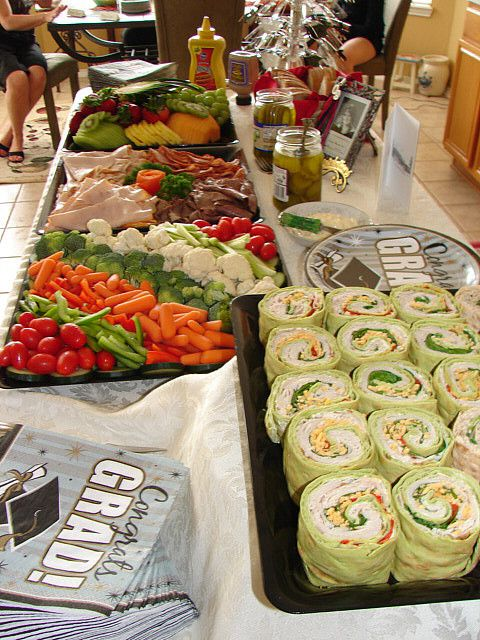 food at graduation 2009
