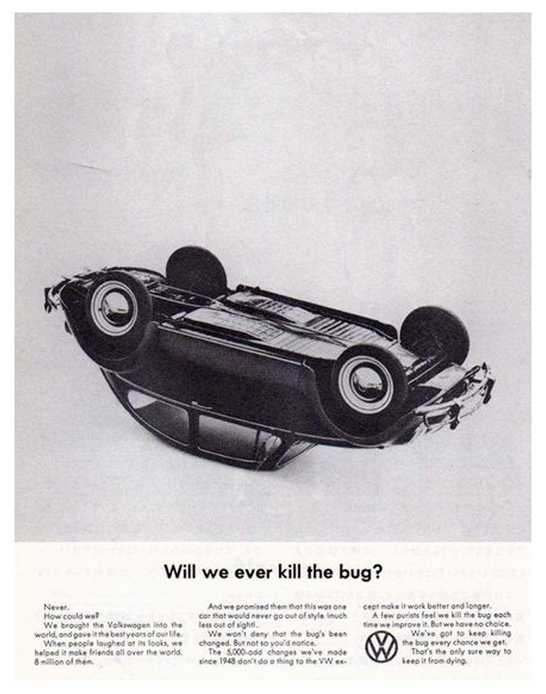 Publicidad para el Volswagen Beetle William Bernbach