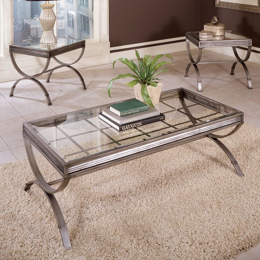 Emerson 3 Piece Coffee End Table Set In 2020 3 Piece Coffee Table Set Coffee And End Tables End Table Sets [ 1024 x 1024 Pixel ]