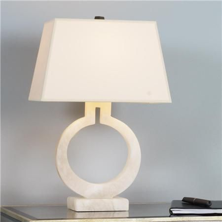 Keyhole ring table lamp lights table lamp shades and paint keyhole ring table lamp in alabaster shades of light aloadofball