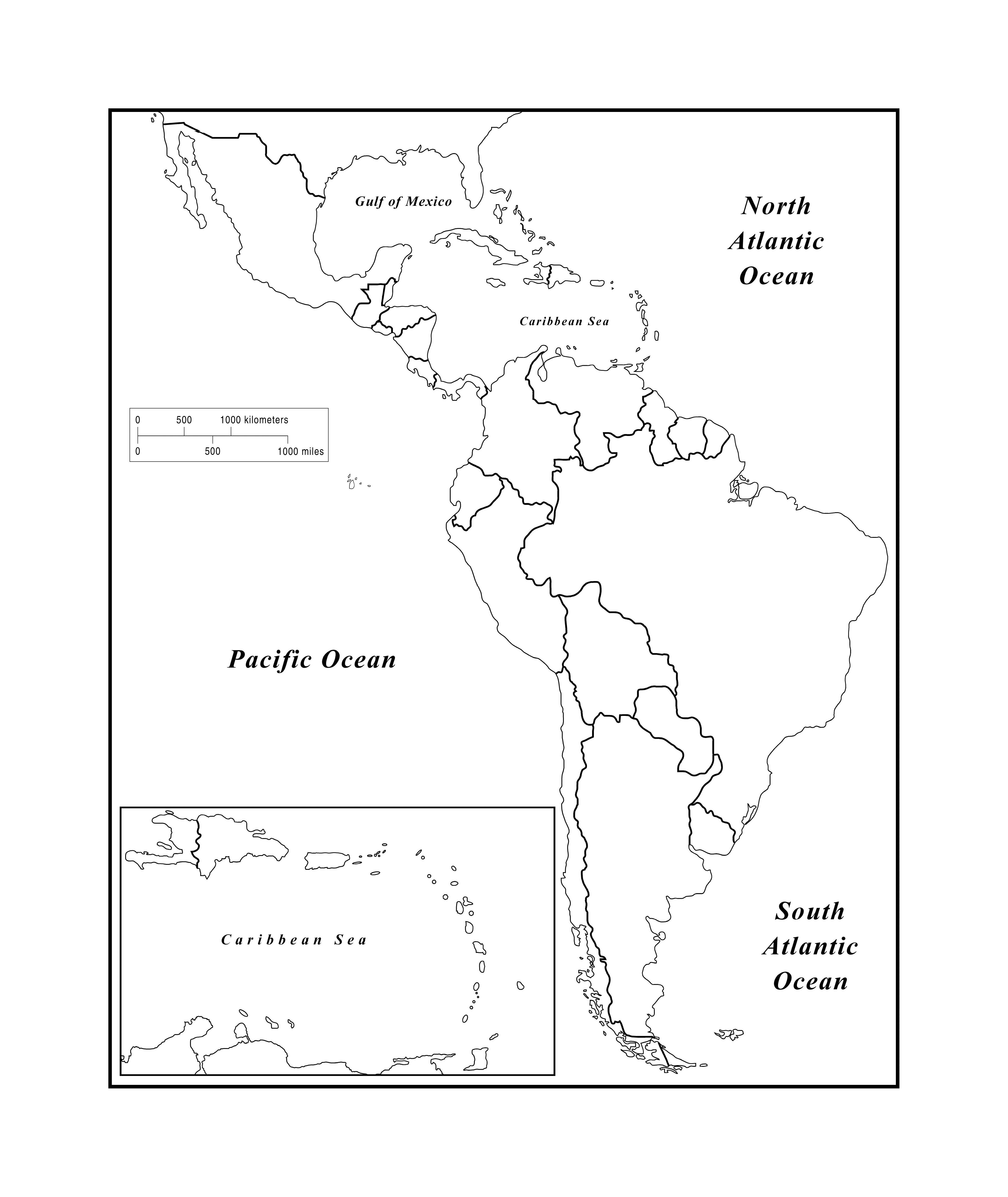 Latin America Map Practice south america map quiz meyer