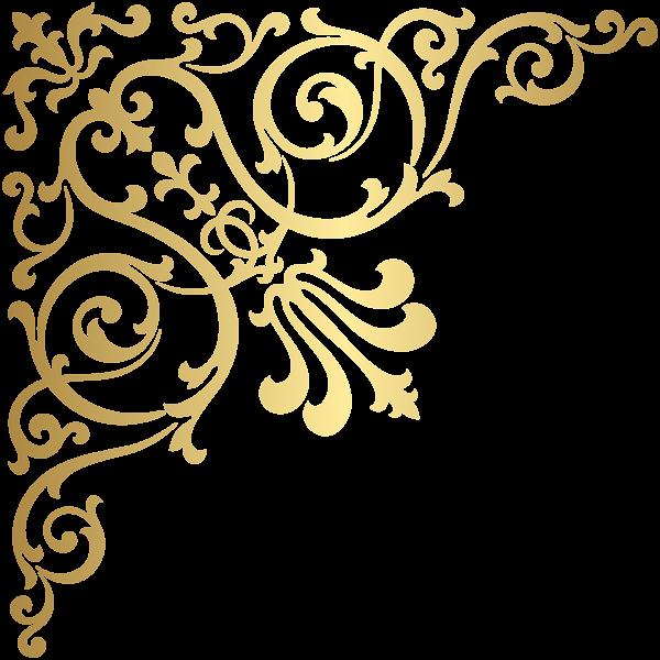 Gold Corner Transparent Png Clip Art Free Clip Art Free Art Clip Art