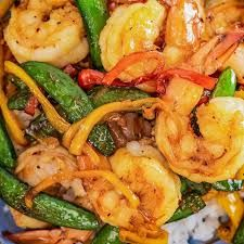 Ayesha Curry's Honey Ginger Shrimp Stir-Fry