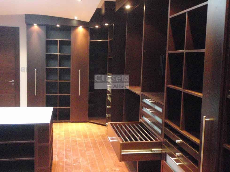 Closets albert closets vestidores cocinas islas y - Accesorios para armarios ...