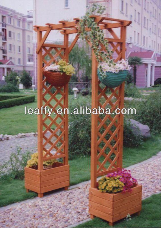muebles de madera para jardin - buscar con google | maceteros