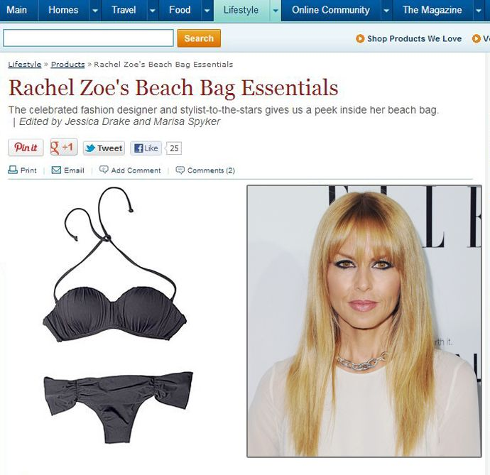 How To Cancel Uber >> Carrying a bikini that Rachel Zoe considers essential? No big deal. #OHYEAH | From The Press ...