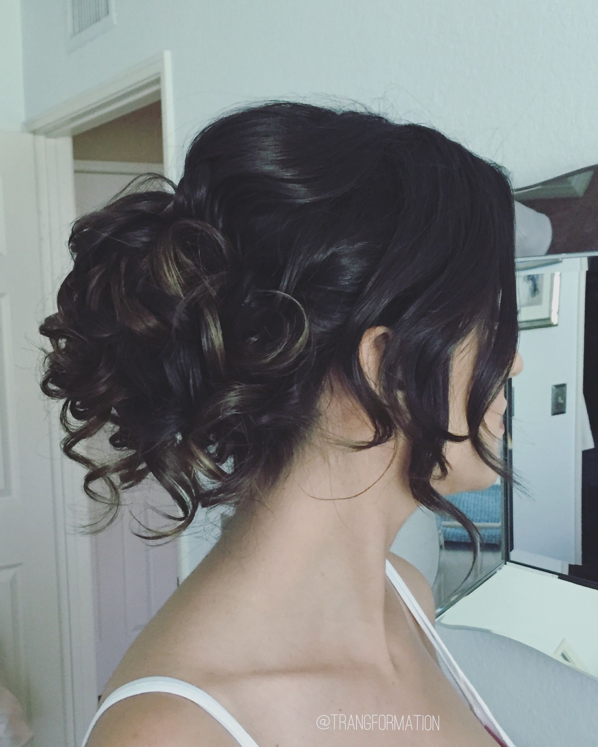 updo, messy updo, loose updo, wedding hairstyles, romantic