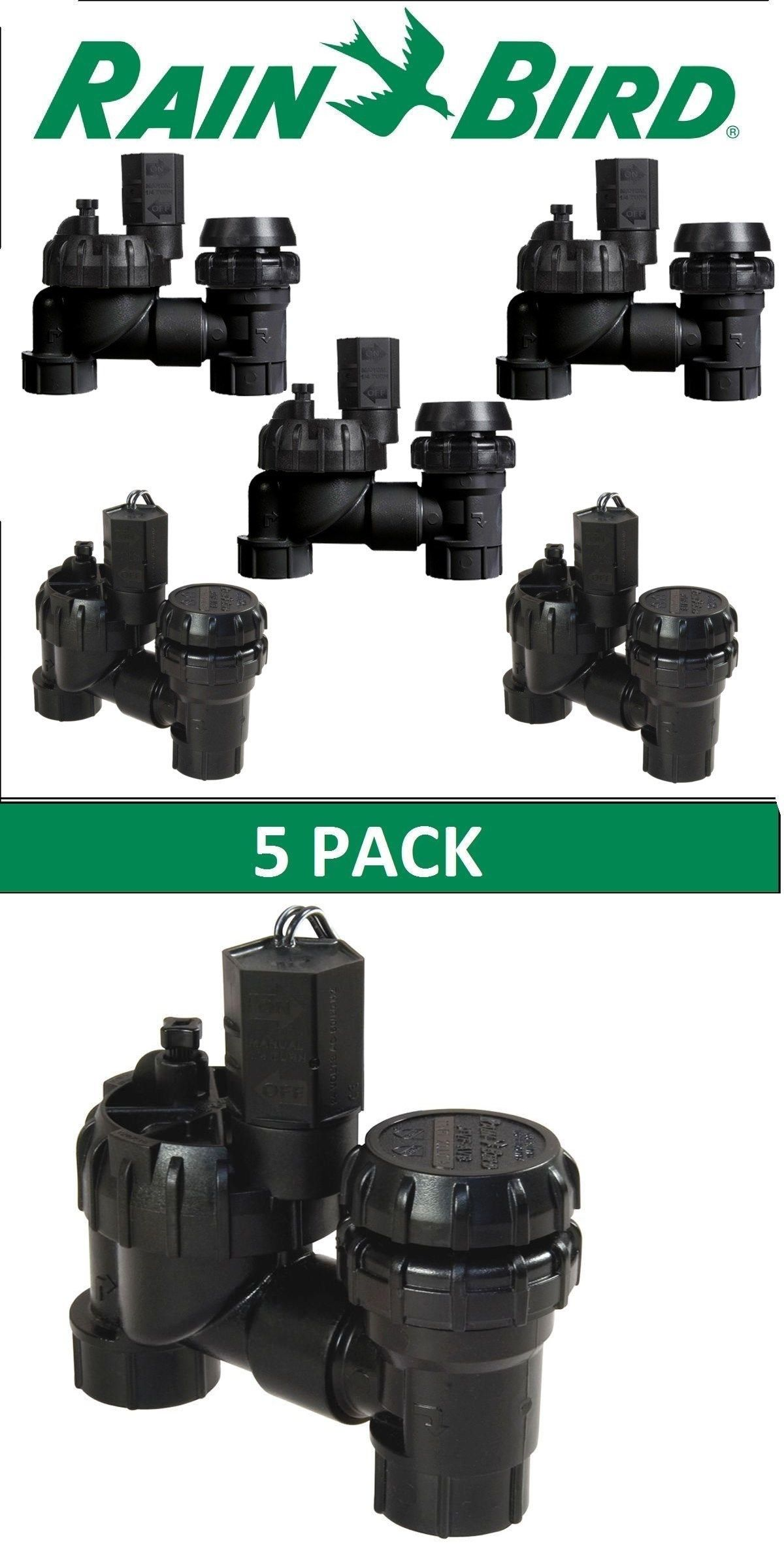 Valves 75673 5 Pack Of Rainbird Jtv As 075 Anti Siphon Jar Top Sprinkler Valves 3 4 Buy It Now Only 72 95 On Ebay Val Rain Bird Sprinkler Valves Siphon