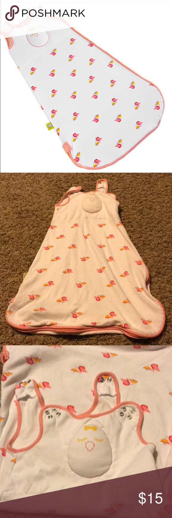 ad50b728e530 Nested Bean Weighted Sleep Sack Cute pelican design! Great condition ...