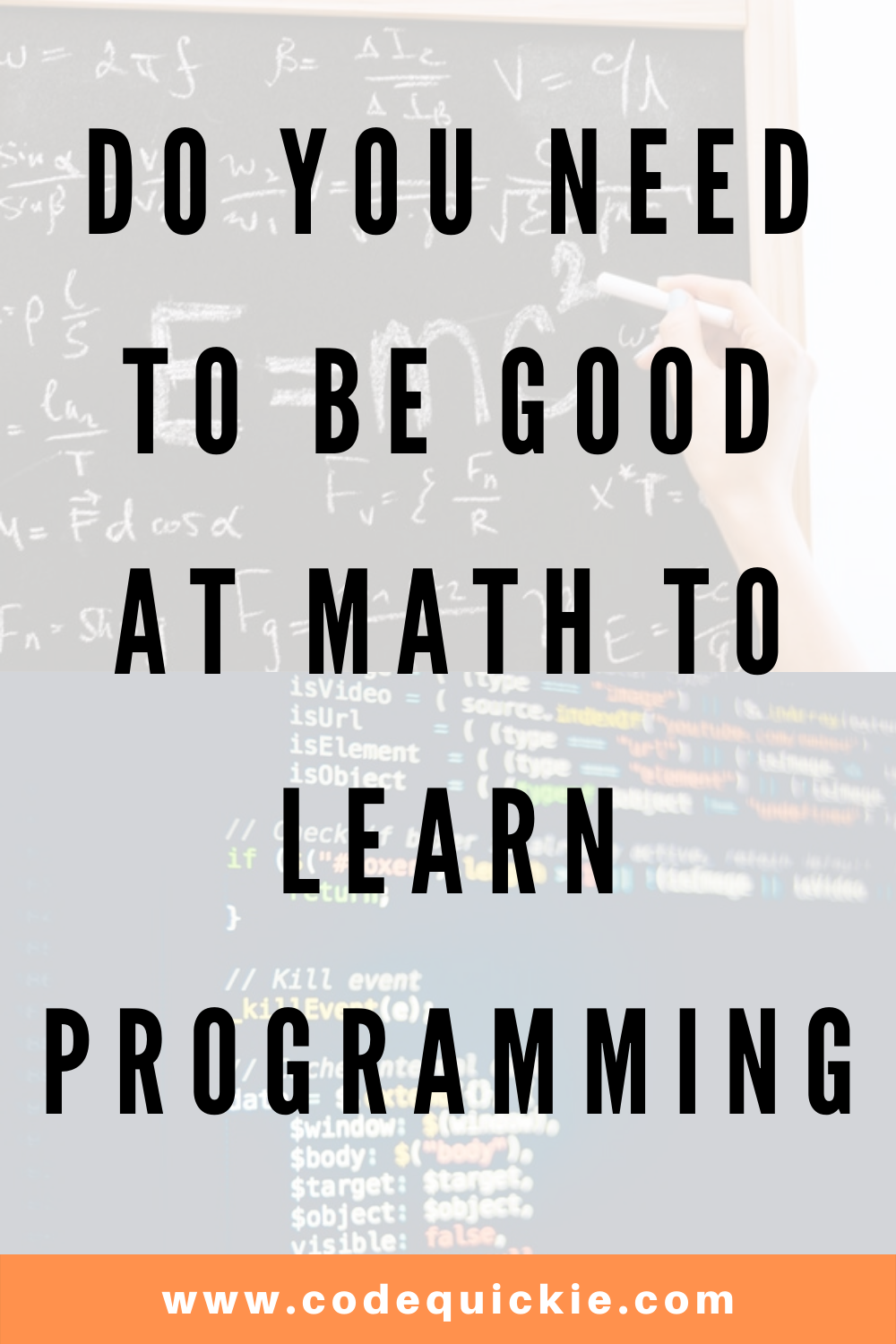 Do You Need Math To Be A Programmer?
