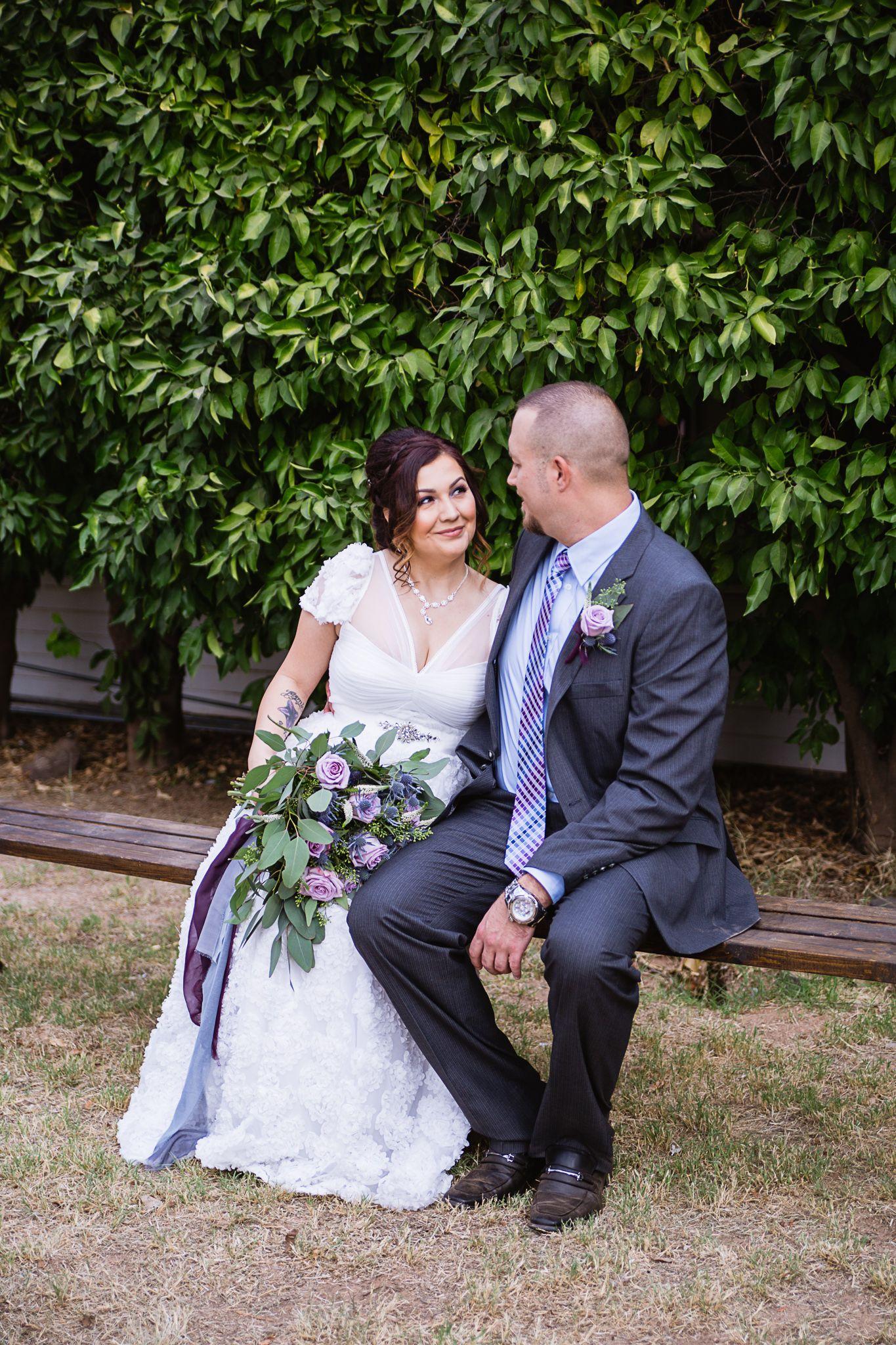 Dusty blue and purple backyard wedding pma weddings pinterest