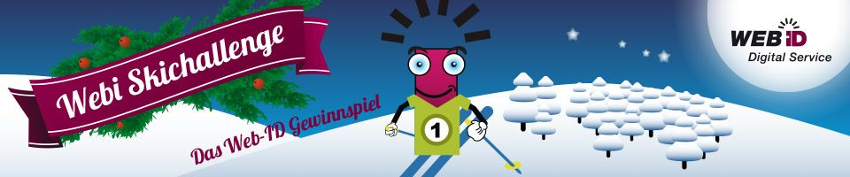 Jetzt mitspielen bei der Web-ID Skichallenge!  Starten Sie durch und gewinnen Sie 2 Tageskarten für eine Schweizer Skidestination inkl. Mittagessen.   http://skichallenge.web-id.ch/