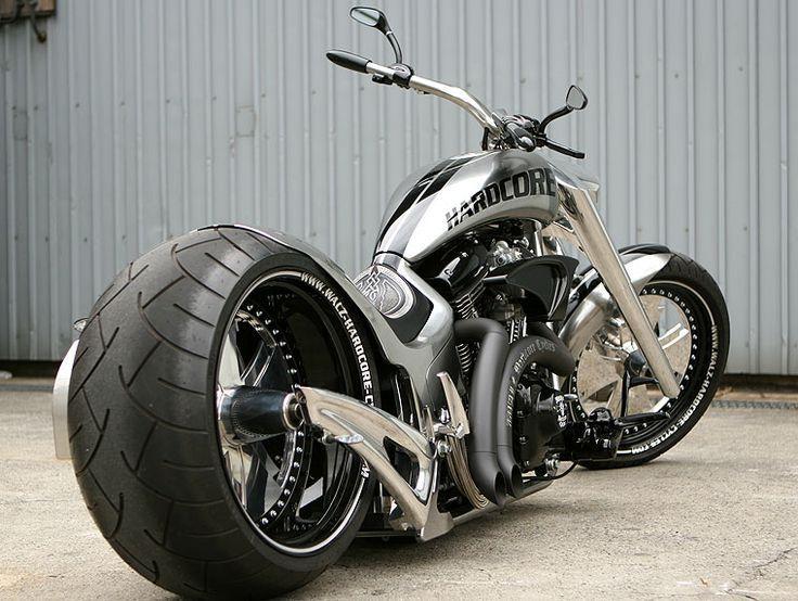Harley Davidson Hardcore By Bad Land Hd Bike Pictures