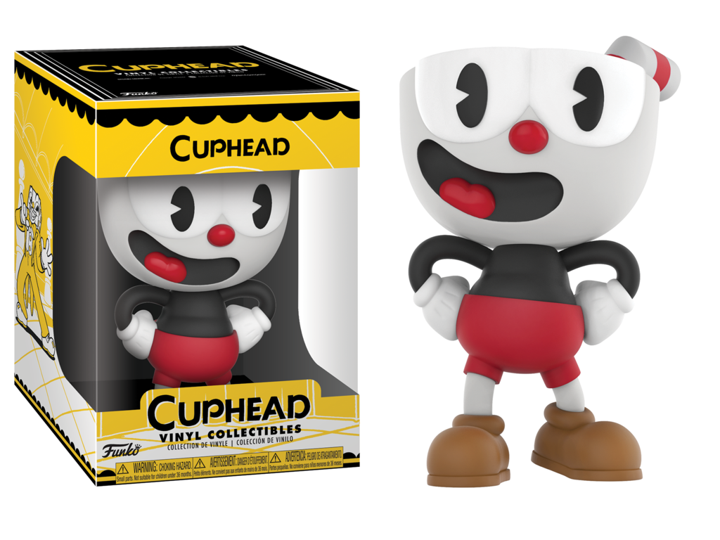 Cuphead Mugman Vinyl Collectible Figur 10 cm Funko