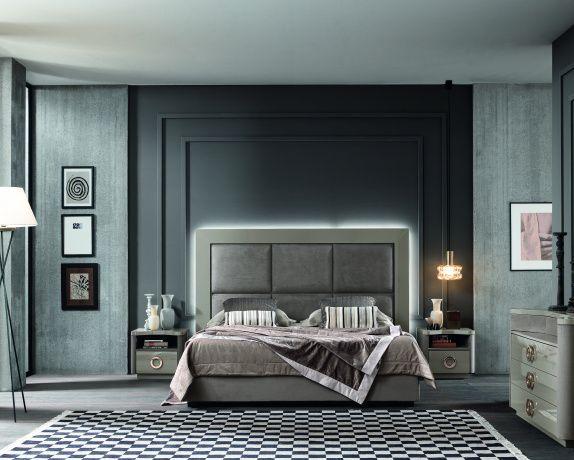 Sma Mobili ~ Elegant vito bed by sma mobili the vita range is a unique style
