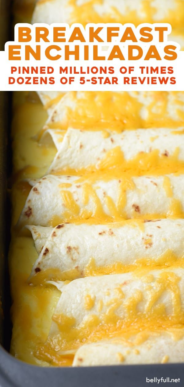 Photo of Enchiladas de desayuno preparadas