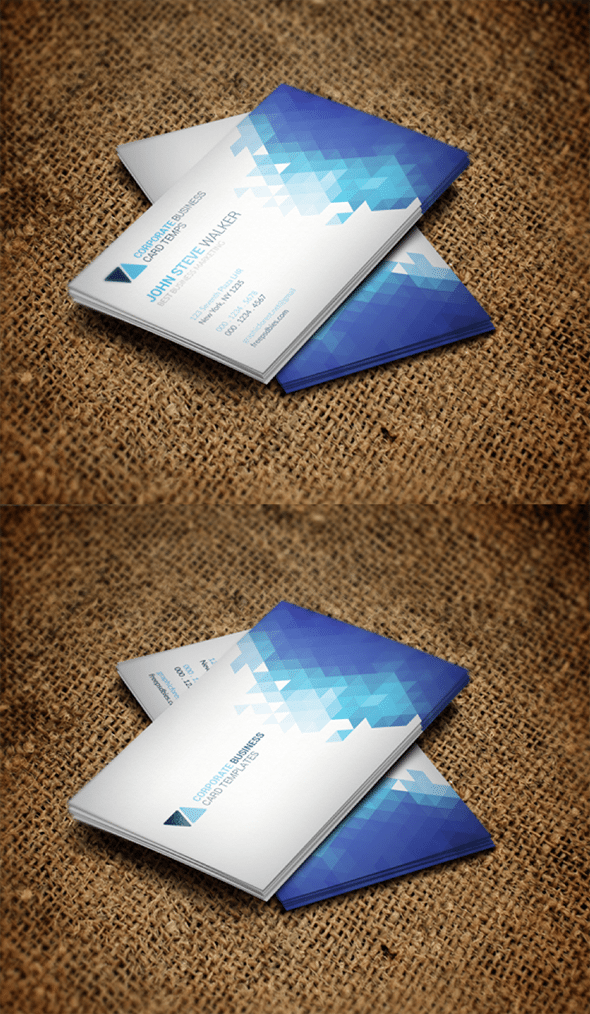 Corporate  Creative Business Card Mockups  Business Card