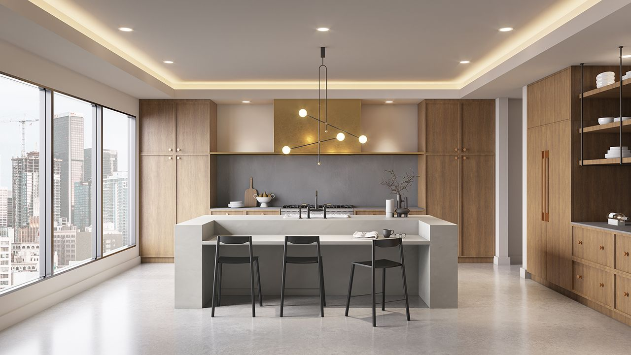 Bobby Berk Teams up with Corian® Design to Create Kitchens for the Fab Five - Design Milk