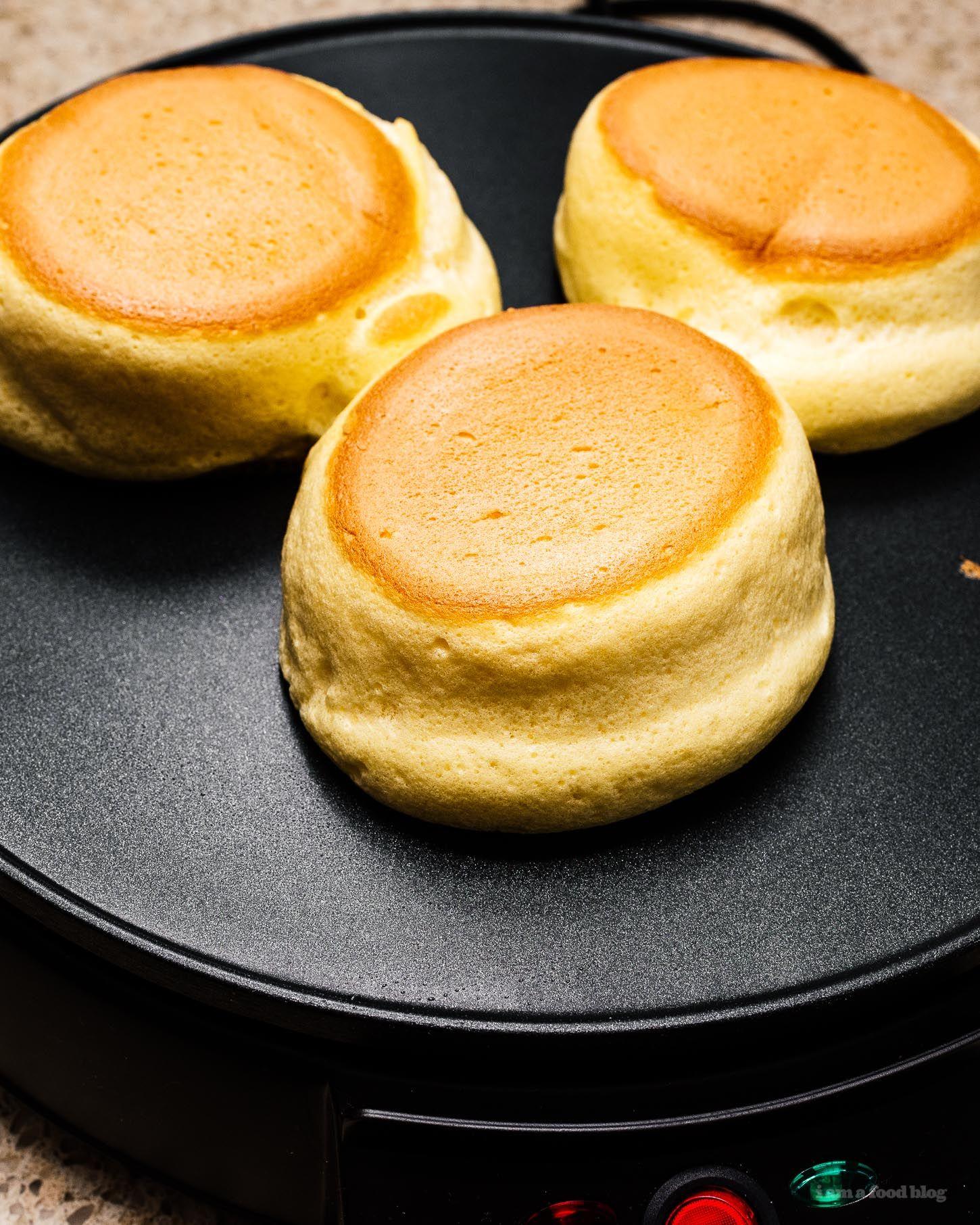 Fluffy Japanese Pancakes Souffle Pancake Recipe Souffle