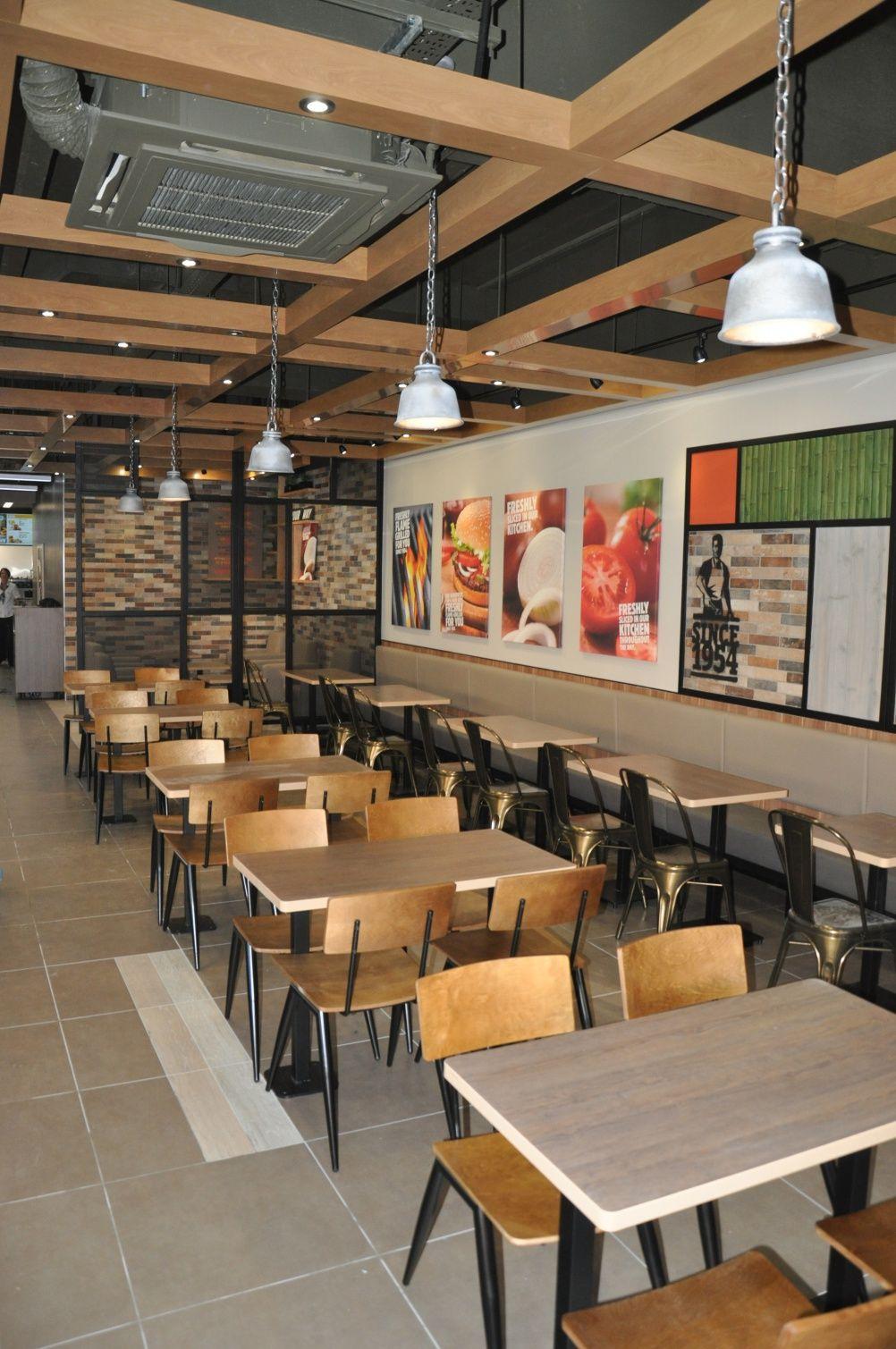 Burger King Launches New Interior Designs New Interior Design