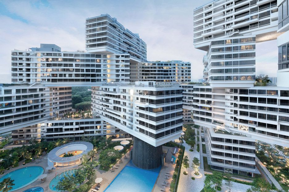 """The Interlace by Ole Scheeren was designed to """"build a sense of community"""" 