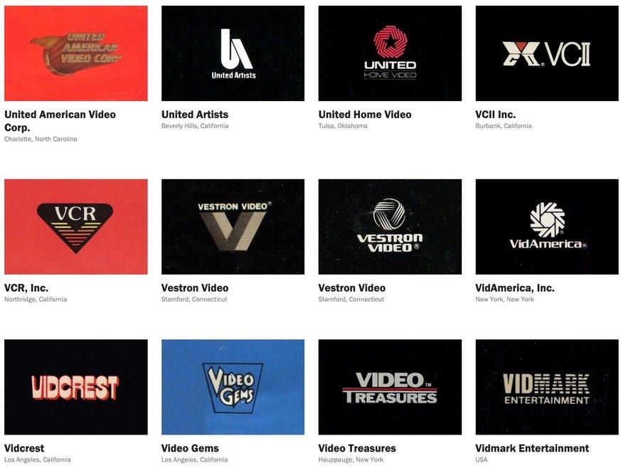 Reagan Ray S Visual Database Of Vintage Logos Core77 In 2020 Vintage Logo Record Label Logo Visual