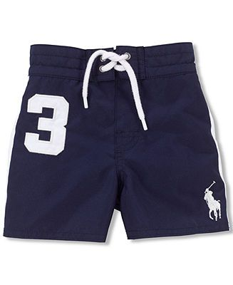 0b49669451db6 Ralph Lauren Baby Boys' Swim Trunks - Kids Baby Boy - Macy's | Baby ...