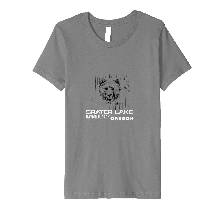 Black Bear Crater Lake National Park Premium T-Shirt #craterlakenationalpark