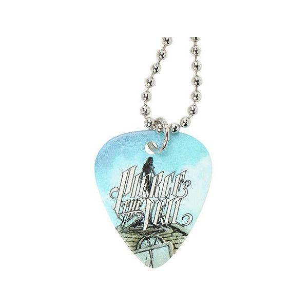 Pierce the Veil guitar pick necklace