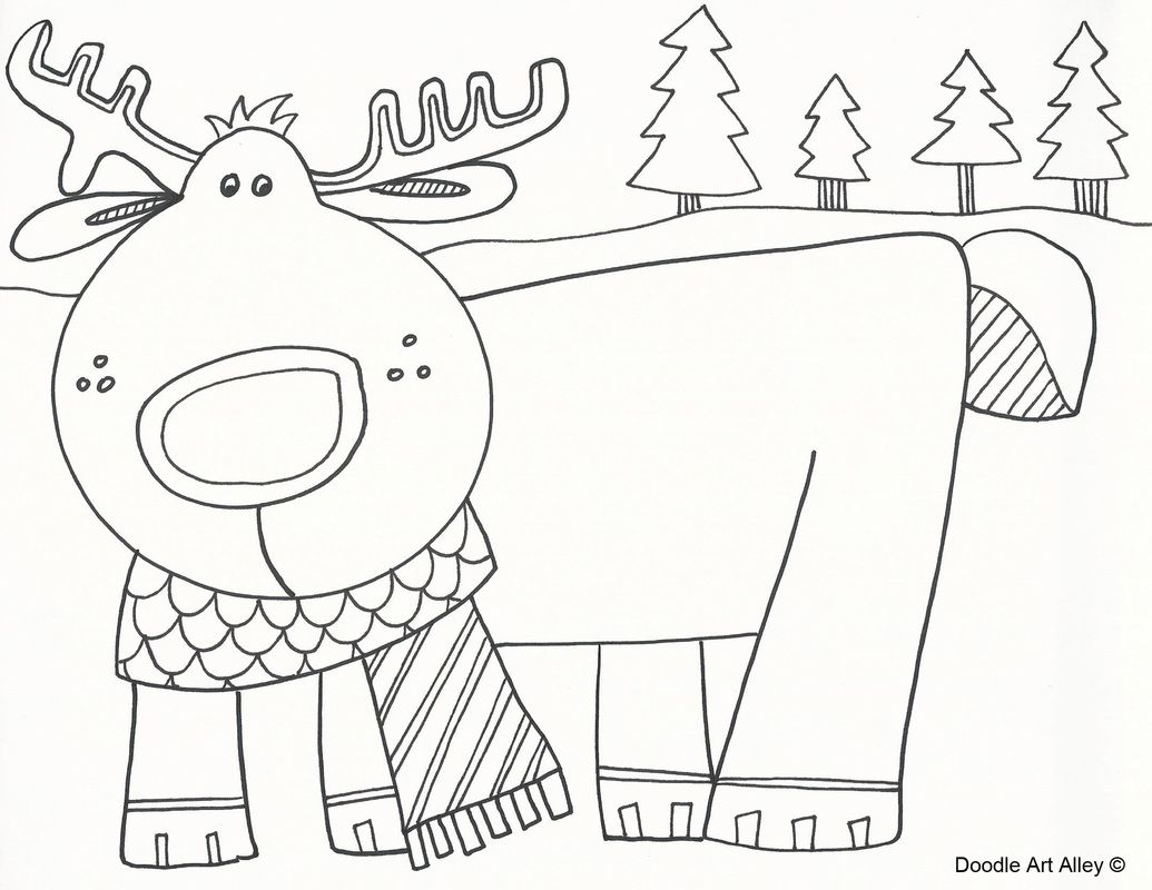 Picture | Winter and Christmas Coloring Pictures | Pinterest ...