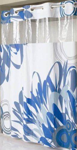 Hookless RBH14MY421 PEVA Shower Curtain