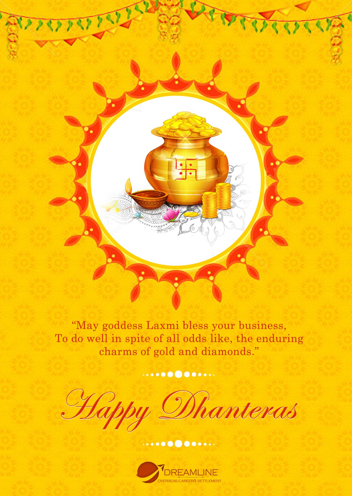 On Dhanteras Wishing You Wealth Good Health Happiness And