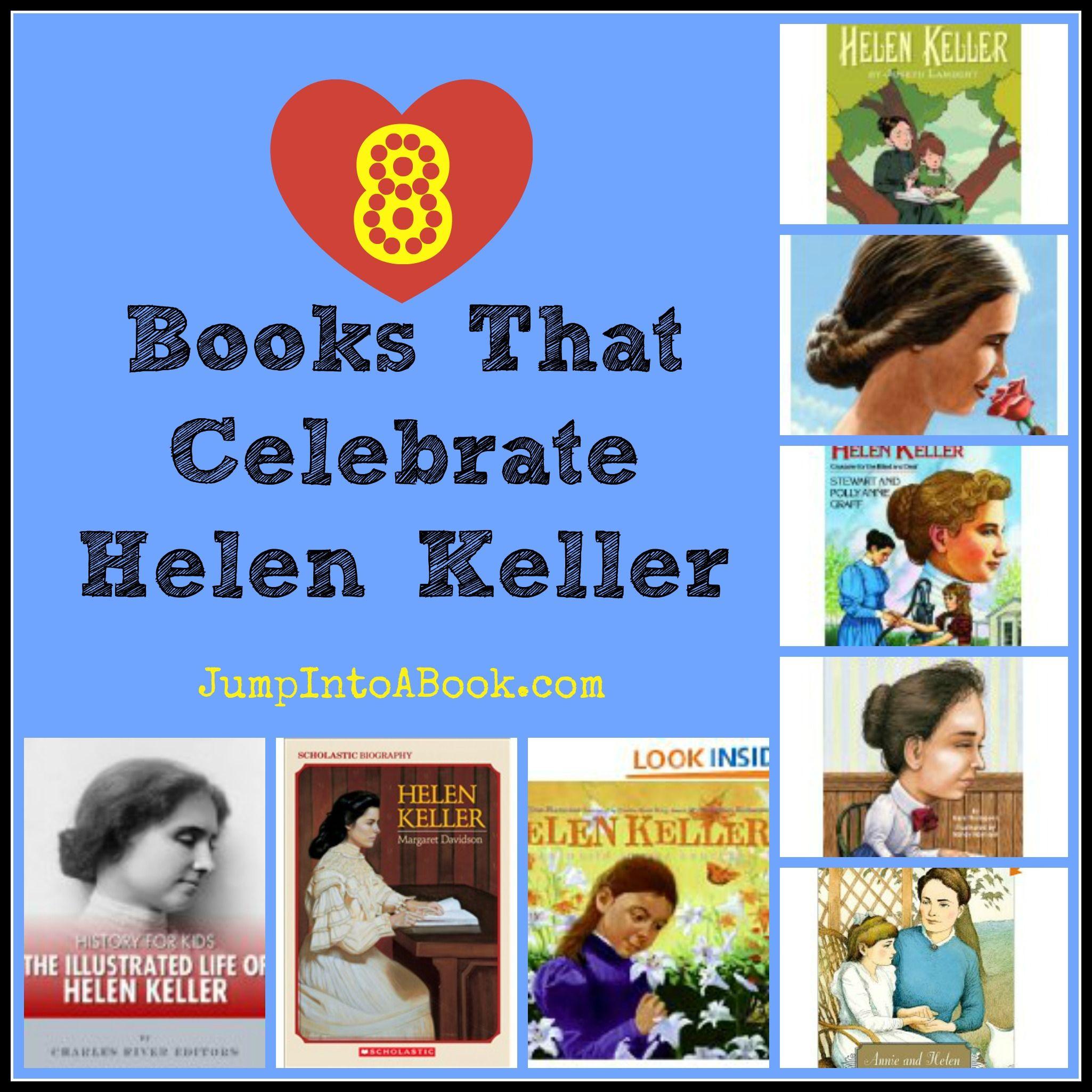 Helen Keller Booklist For Kids From Valarie Budayr