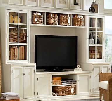 Logan 6 Piece Entertainment Center With Drawers