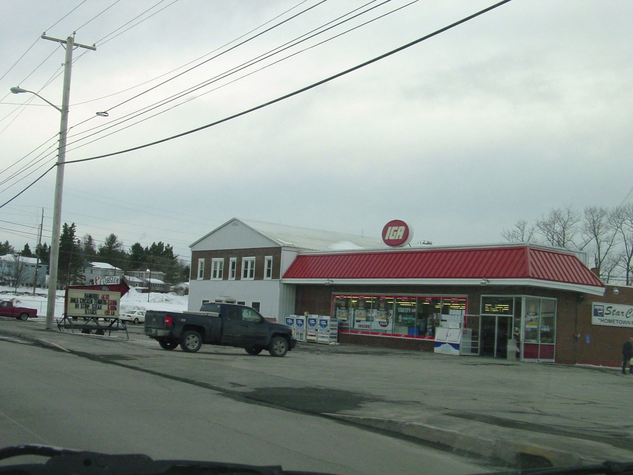 Presque Isle Maine What Would We Do Without Our Iga S