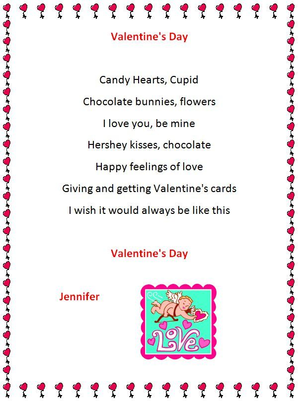 Holiday Poem Generator Valentine S Day Pinterest Holiday Poems