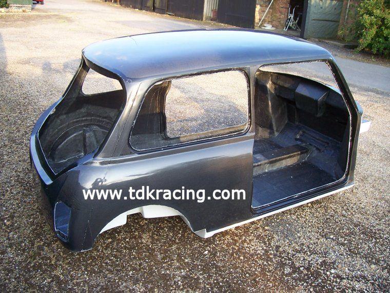 Carbon Fibre Hatchback Body Classic Mini Cooper Dodge Charger